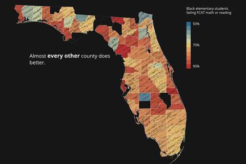 Why Pinellas County is the worst place in Florida to be black and go to  public school