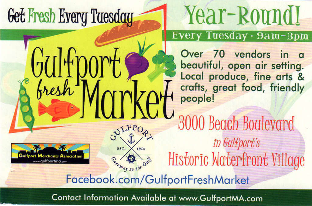 Gulfport Market sign