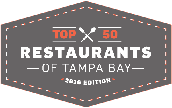 a3c7eb8f316 Top 50 restaurants of Tampa Bay 2016 edition