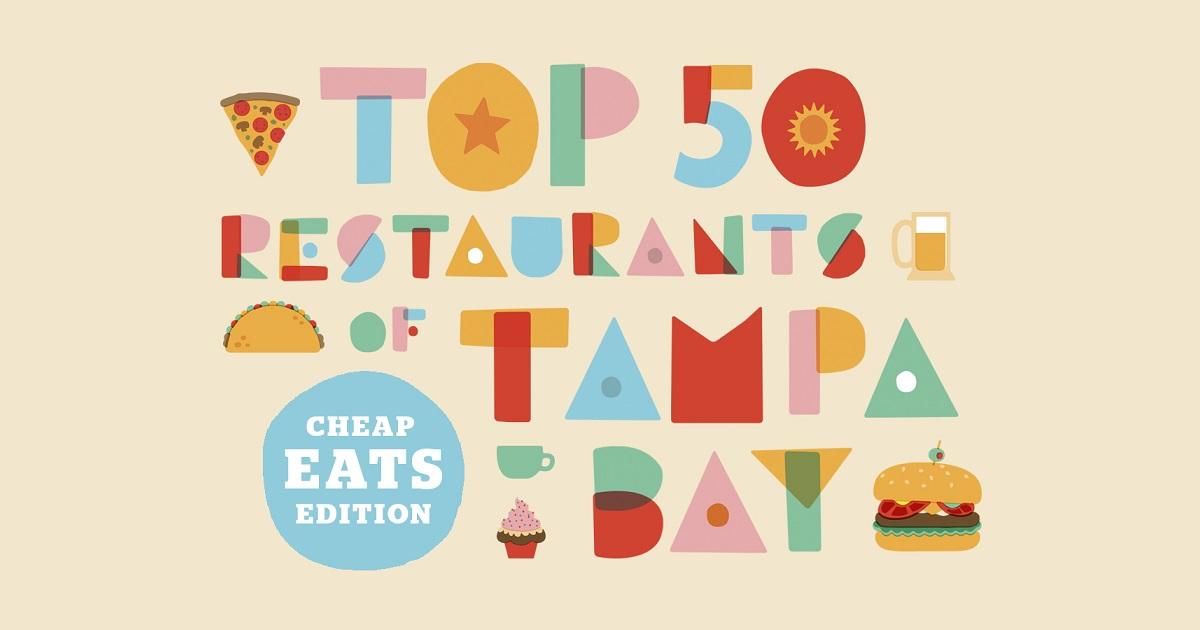 b9295d1480e07 Top 50 restaurants of Tampa Bay  Cheap eats edition