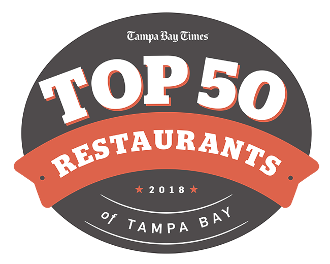 Top 50 Restaurants Of Tampa Bay For 2018 Food Tampa Bay Times